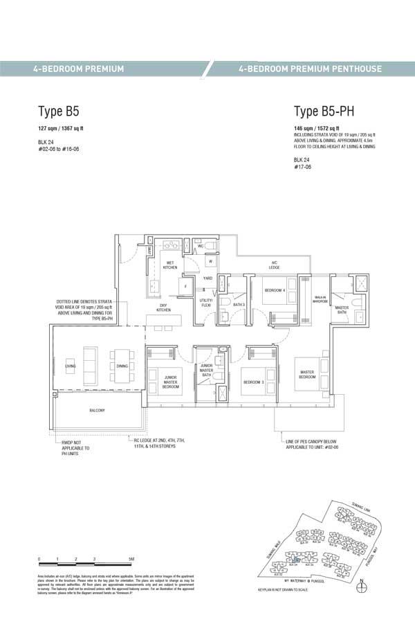 Piermont Grand Ec Floor Plan Punggol Sumang Walk Singapore